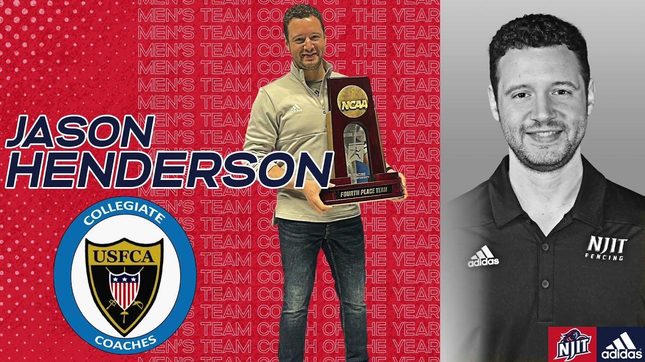 2021 USFCA Men's Fencing Team Coach of the Year - Jason Henderson Apr 26, 2021
