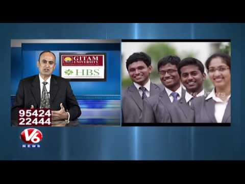 Key Steps For Choosing Right Business School | GITAM University | Career Point | V6 News