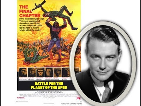 LEW AYRES battle for the planet of the apes 1973