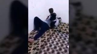 Babasına namaza kaldıran konuşma engelli çocuk