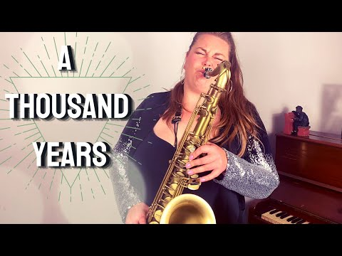 A THOUSAND YEARS Instrumental SAXOPHONE Cover Made Famous By Twilight.