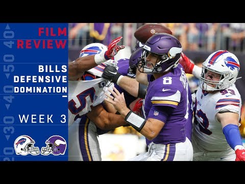 How the Bills Shut Down the Vikings | NFL Film Review