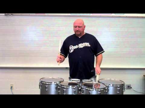 Moving Drum to Drum on Tenors