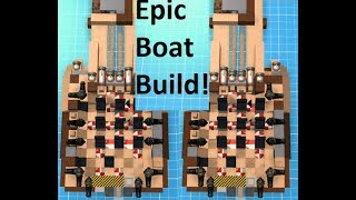 Pocket Pirates ROBLOX (INSANE BOAT + OPENING HUGE CHEST)