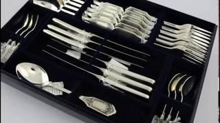 видео наборы столового серебра