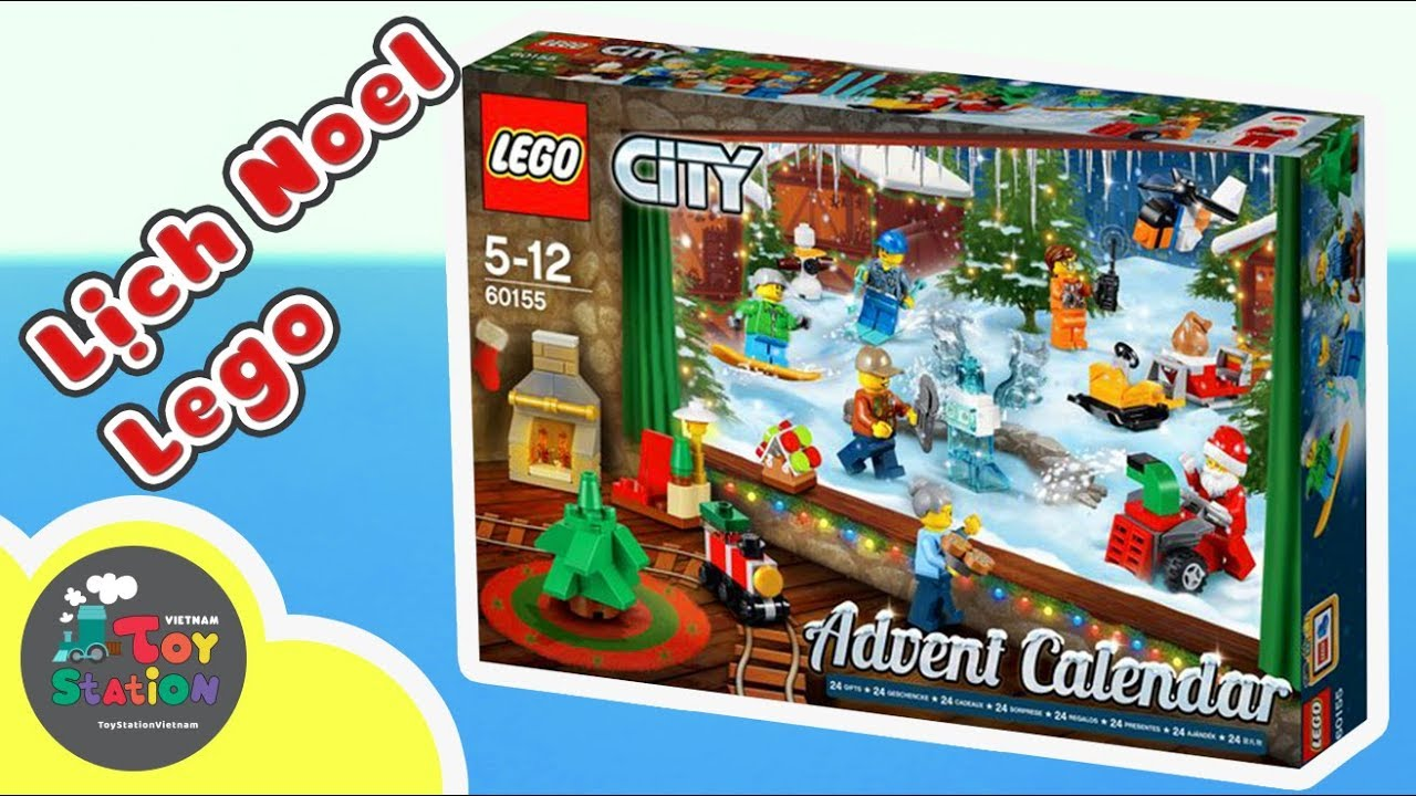 Lego Advent Calendar 2017, Những bất ngờ Lego Christmas ToyStation 143