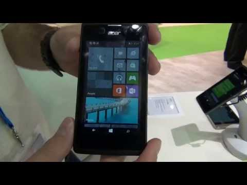 Acer Liquid M220 - Video anteprima di Windowsteca dal MWC 2015