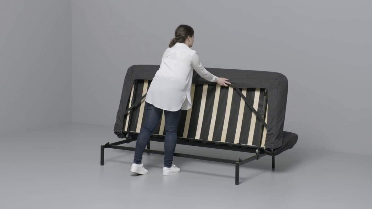 Ikea Divano Letto Ps.Ikea Nyhamn Convertible 3 Places Youtube