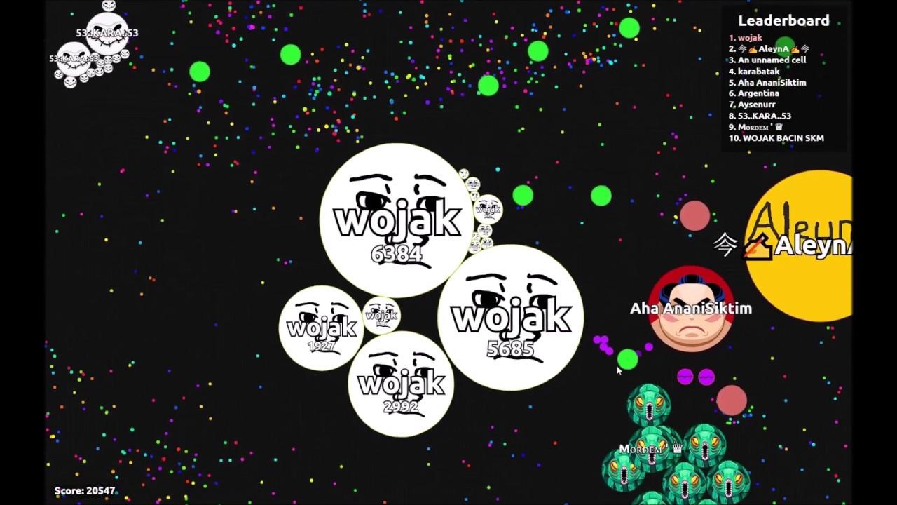 Download Wojak doomer forever alone vs teams on agar.io