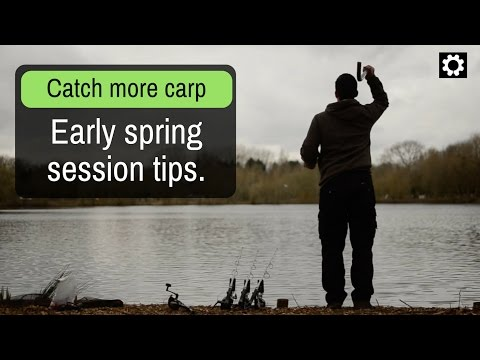 Carp Fishing Spring Tips 2019