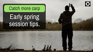 Carp fishing spring tips 2019