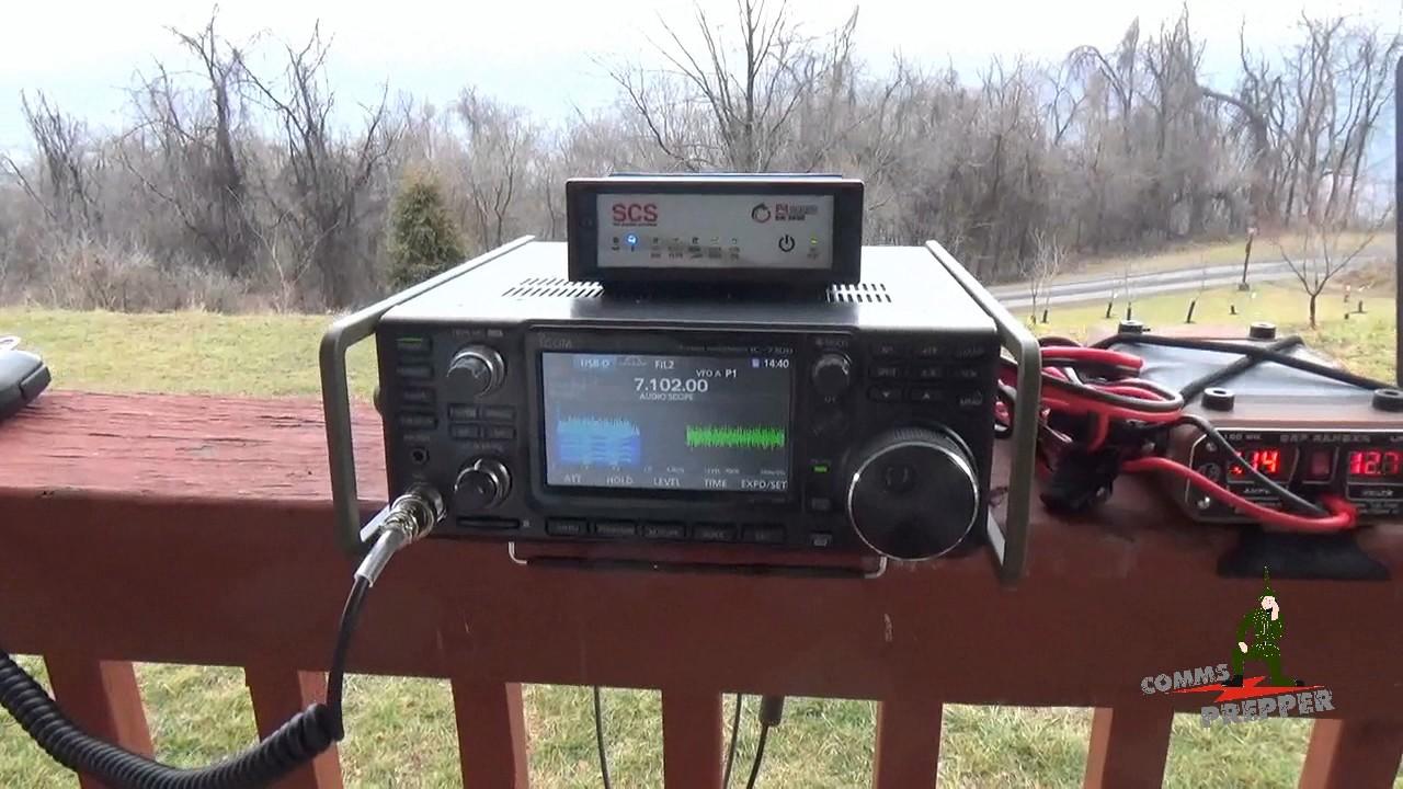 Icom IC-7300 HF Radio Portable Operations - HF Radio Email