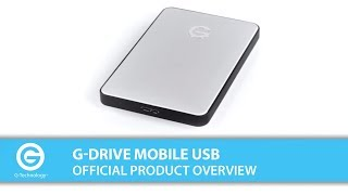 G-DRIVE mobile USB | Official Product Overview