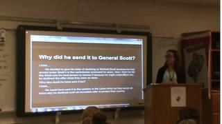 """""""Letter to Winfield Scott"""" - Robert E. Lee (April 20, 1861)"""