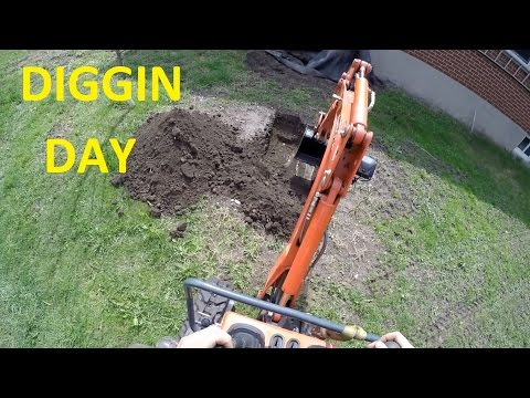 A day with Billstmaxx digging and stuff