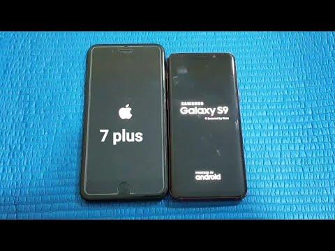 Samsung s9 iphone 7