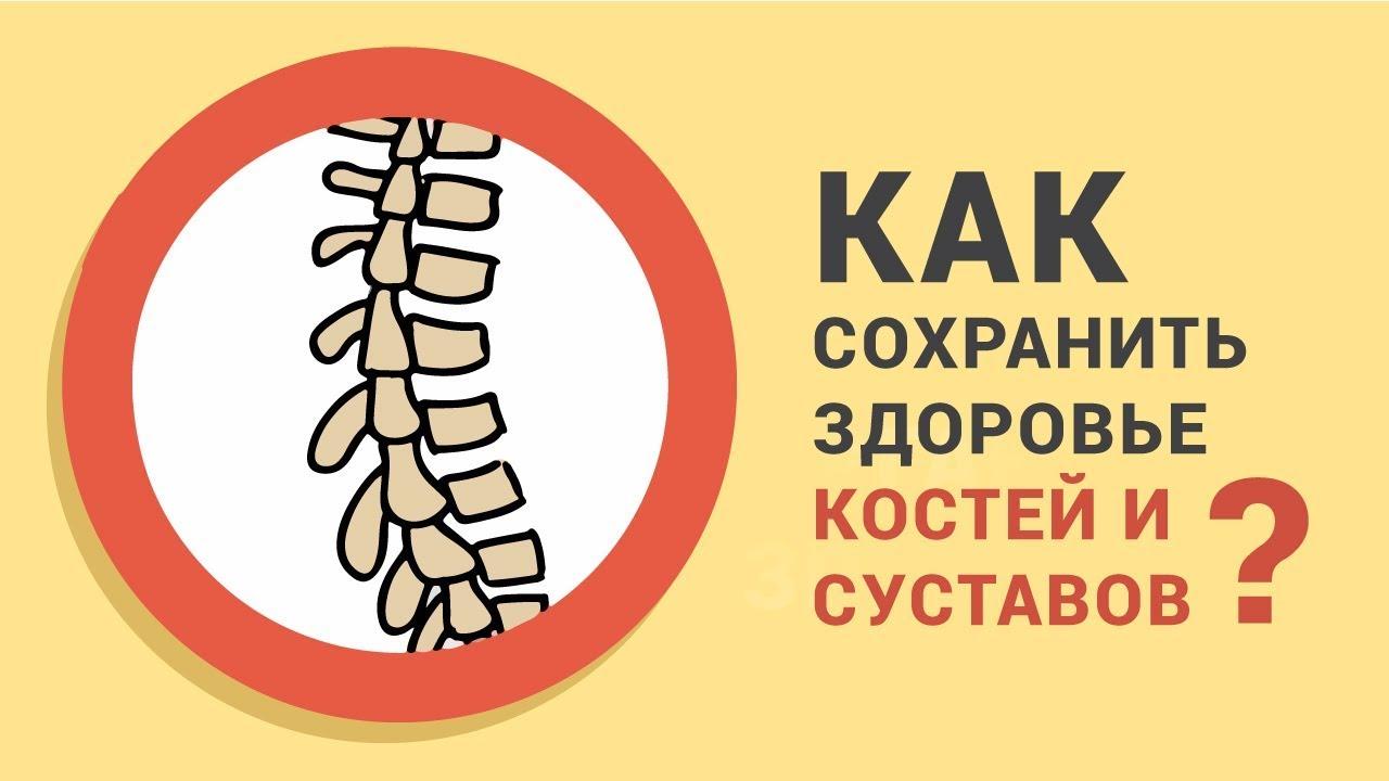 Как сохранить здоровье костей и суставов. Организм человека. Нескучная анатомия