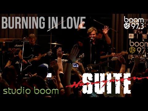 Honeymoon Suite - Burning In Love LIVE - studio boom