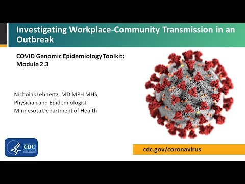 Module 2.3 – Investigating workplace-community transmission