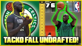 The REAL Reason TACKO FALL Went UNDRAFTED And COULD Play In The NBA Next Season!