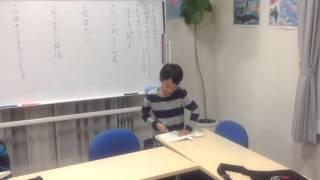 今回は、高学年の生徒たcが勉強している隣で「集中して静かに本を読む」...