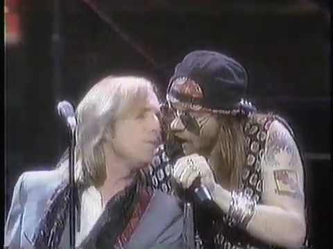Tom Petty & Axl Rose – 1989 MTV Awards