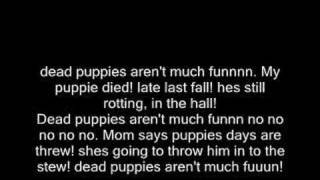 Dead Puppies song