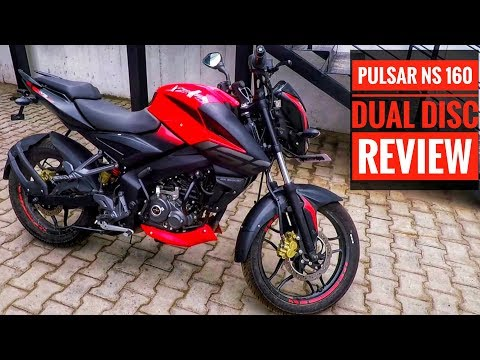 Pulsar NS 160 Dual Disc Review | First Ride and Walk around review