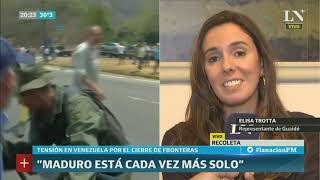 Entrevista a Elisa Trotta, la representante de Guaidó en Argentina: