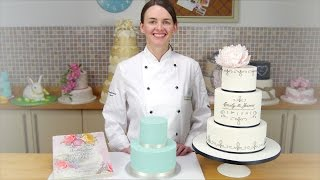 How To Cover A Cake In Sugarpaste & Achieve Sharp, Crisp Edges