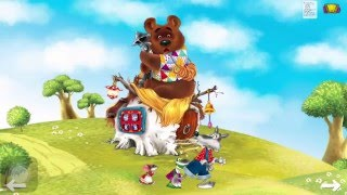 Сказка Теремок. Интерактивные детские книжки