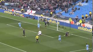 Manchester City 2-0 West Ham United (19/4/2015)