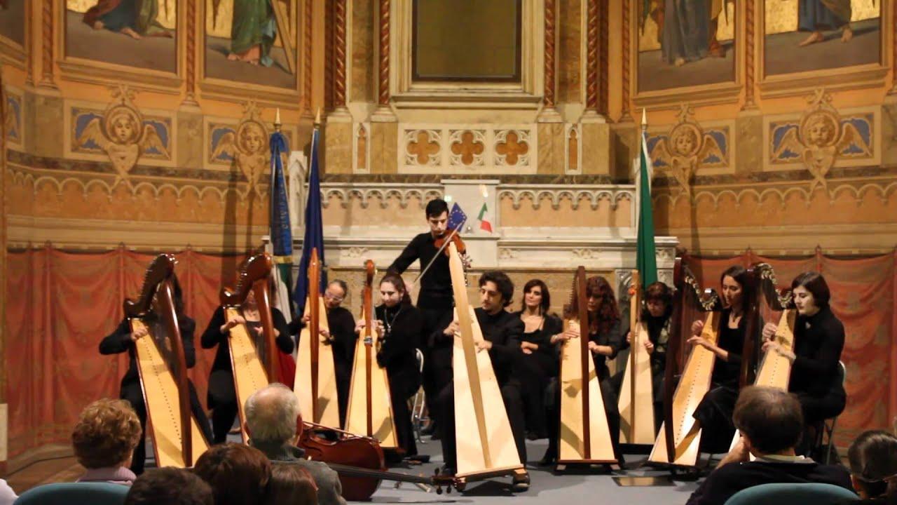 Celtic Harp Orchestra - Brian Boru (Live @ Treviglio (BG) - 13/11/10)