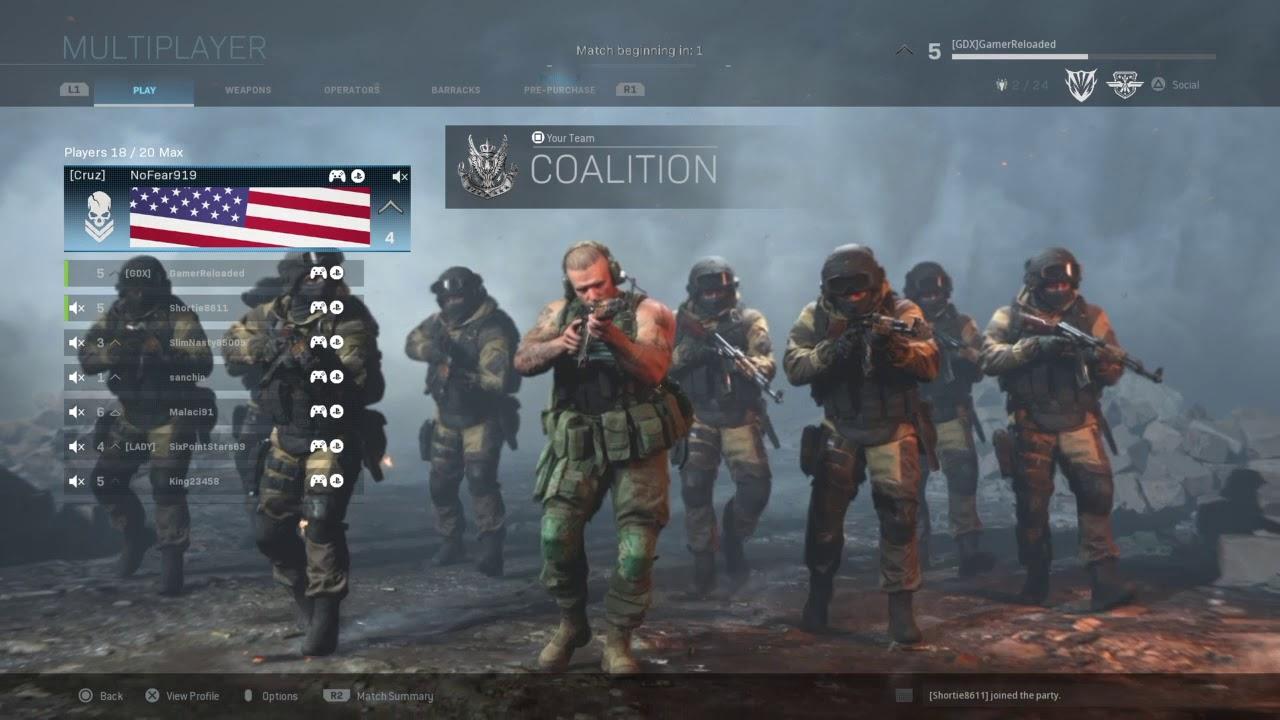 Modern Warfare PS4 Beta gameplay!