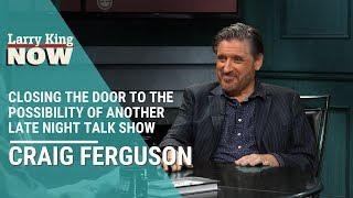 Craig Ferguson Closes The Door To The Possibility Of Another Late Night Talk Show