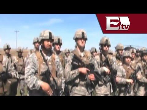 Así funciona la Guardia Nacional en Estados Unidos/Titulares de la noche