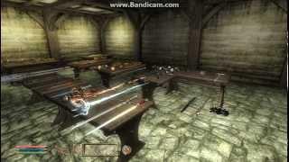 TES4 Oblivion: Как получить всю броню и оружие в начале игры!