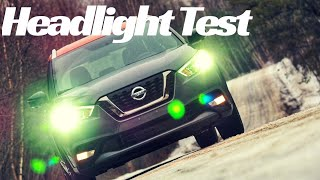 2019 Nissan Kicks: Headlight Demonstration