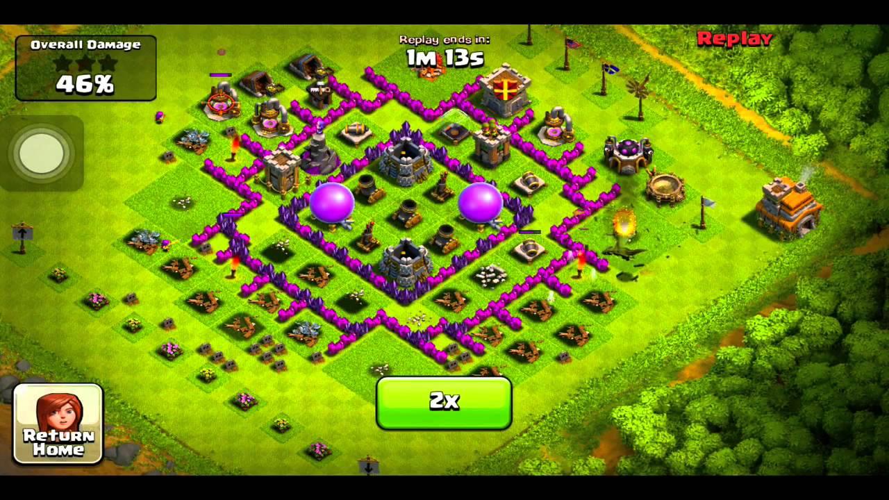 clash of clans funniest raid ever seen youtube