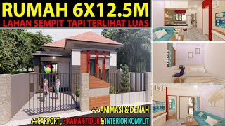 denah rumah sederhana 3 kamar tidur 1 mushola