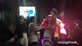 [HD FANCAM] Free Falling - dKash feat Shupie, y1ee & Kidd King  (Sillyboot EP release 161224) Video