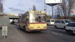 Последние Троллейбусы Skoda в Киеве часть №2(На видео представлены последние троллейбусы Skoda в Киеве на момент публикации видео. В Киеве в рабочем состо..., 2015-01-31T19:48:16.000Z)