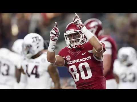 Arkansas WR Drew Morgan 2015 Highlights