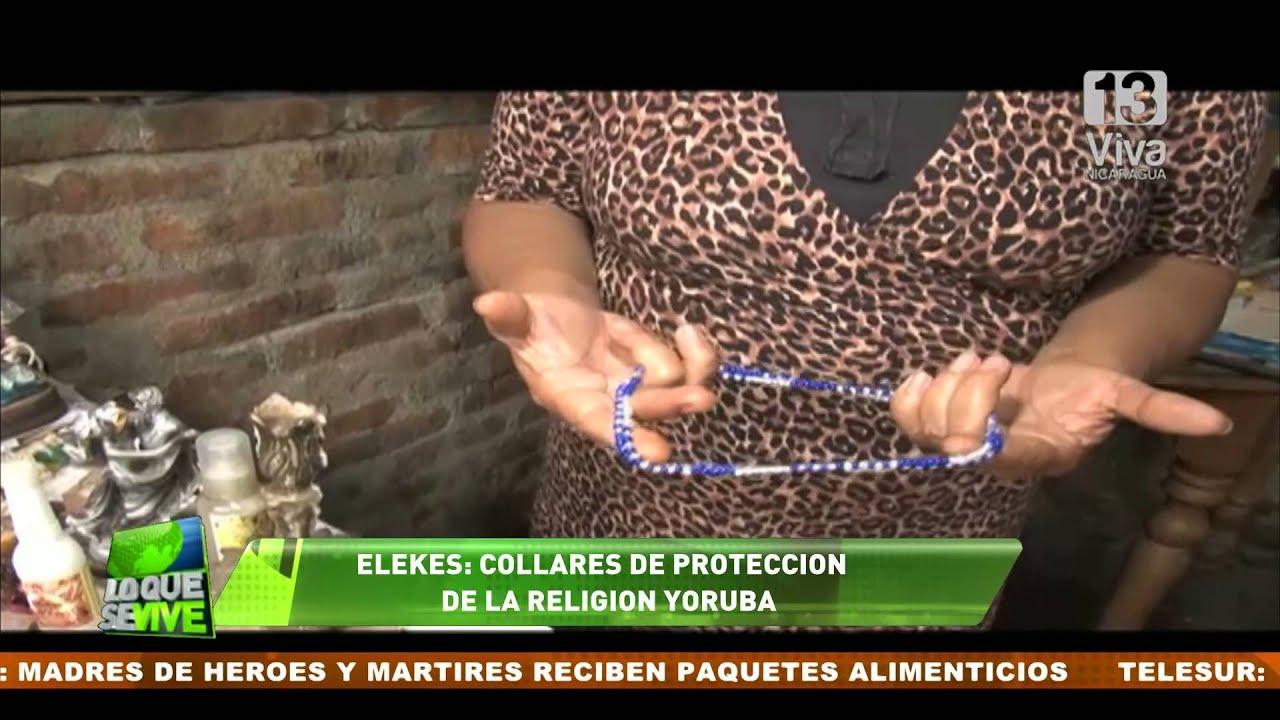 a4344d7db41e Elekes  Los collares de protección de la religión Yoruba - YouTube