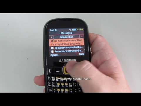 Samsung Corby TXT video review part 3/3 @ OCWORKBENCH