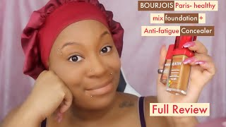 BOURJOIS Paris- Healthy mix foundation + Anti-fatigue Concealer