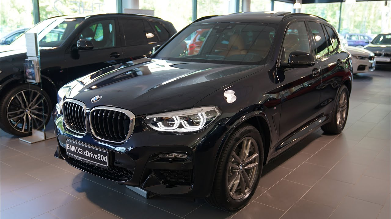 2020 Bmw X3 Xdrive20d Modell M Sport 140kw Visual Review Youtube