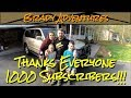 We hit 1000 Subscribers!!! Thanks for all the Support!!!