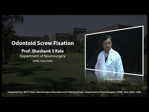 Odontiod screw fixation