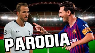 Canción Barcelona vs Tottenham 4-2 (Parodia Vaina Loca - Ozuna x Manuel Turizo)